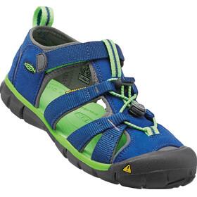 Keen Kids Seacamp II CNX Sandals True Blue/Jasmine Green
